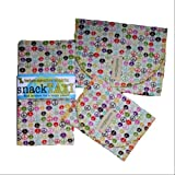 SnackTaxi Reusable Sandwich-sack Bag, Snack-sack Bag and Twice-as-nice Napkin Peace Sign Set.