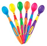 Munchkin 6 Pack Soft-Tip Infant Spoon, Colors May Vary