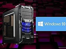 UフォレストPC フルスペックゲーミングデスクトップ【CPU Core i7/メモリ16GB/SSD120GB/HDD1TB/書き込み対応Blu-Ray搭載/GTX750Ti/OS Windows10】 (ブラック[Win10単品モデル])