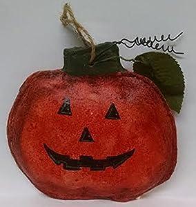Hand Painted Pumpkin Ornament