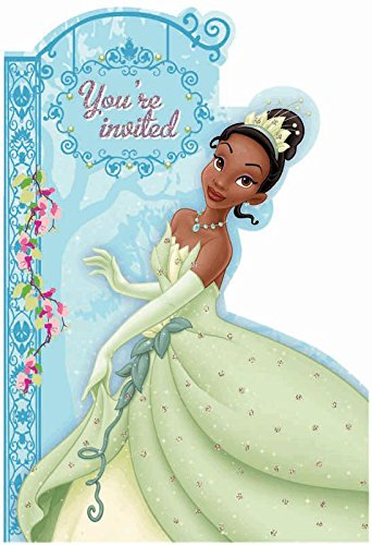 Princess and the Frog Invitations w/ Envelopes (8ct)
