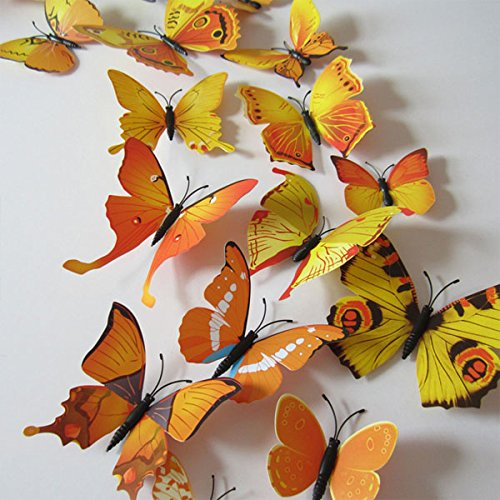 12pcs-3d-art-butterfly-decal-wall-sticker-home-decor-room-decoration-yellow