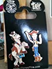 Toy Story Woody & Bullseye Disney Pins