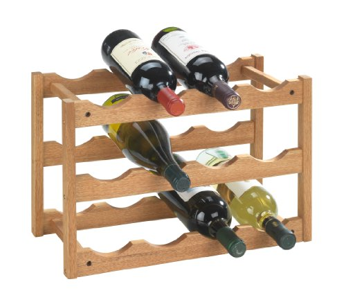 wenko-18615100-norway-botellero-para-12-botellas-de-madera-de-nogal-42-x-28-x-21-cm