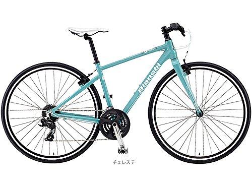 ビアンキ(BIANCHI) CYCLE 2016 ROMA-4 (3x8s) クロスバイク チェレステ 54