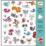 Stickers autocollants Djeco 160 pc Petits amis jeux créatifs Enfants 4 à 8 ans