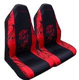 Type S SC02046-6  Seat Cover, Dragon, Pair