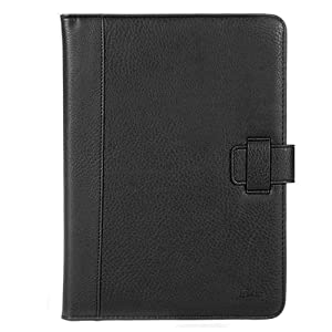 GTMax Black Wallet Leather Case For Samsung Galaxy Tab 10.1 - UK Version P7100