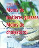 Moins de matires grasses, moins de cholestrol