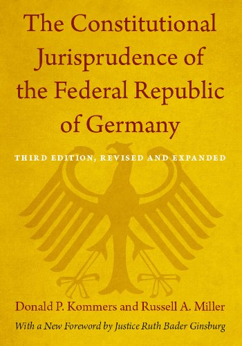 Russell A. Miller  Donald P. Kommers - The Constitutional Jurisprudence of the Federal Republic of Germany