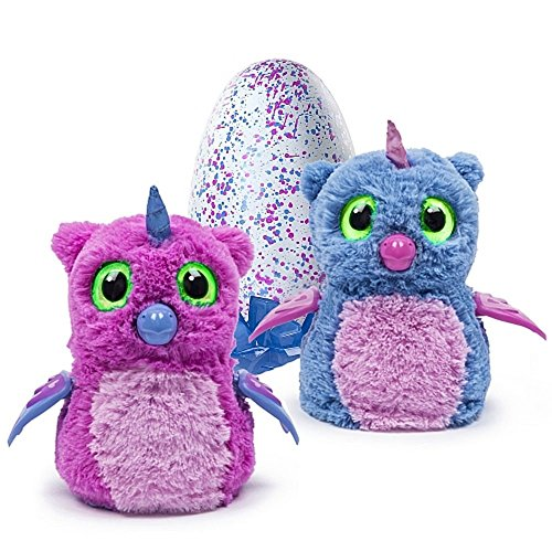 Hatchimals Owlicorn, rosa o azul