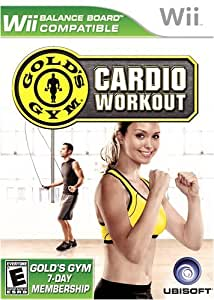 Gold's Gym Cardio Workout - Bilingual - Wii