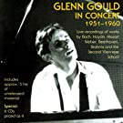 � Glenn Gould in Concert, 1951-1960 �