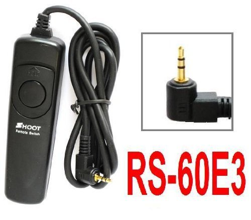 NEEWER® Shutter Release Remote Control RS-60E3 Replacement for Canon Rebel 2000, G, G II, T1, T2, T2i