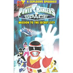 Power Rangers no Spaço download baixar torrent