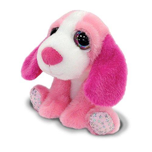 Russ Berrie Lil Peepers - Sophia Pink Basset Large Eyes Plush Toy