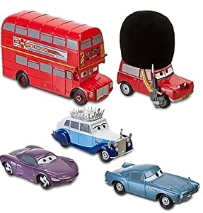 Disney / Pixar CARS 2 Movie Exclusive 148 Die Cast Car 5Pack London Calling 2 Set Exclusive Cars!