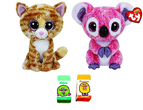 Ty Bundle Set Of 2 Small 6 Beanie Boos Plush Toys Tabitha The Cat And Kacey 86b849857c0a