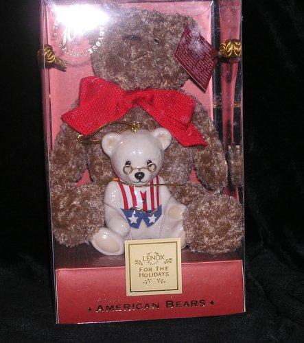 Lenox China 100th Anniversary American Bears