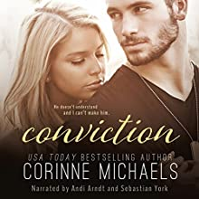 Conviction: The Consolation Duet, Volume 2 (       UNABRIDGED) by Corinne Michaels Narrated by Andi Arndt, Sebastian York