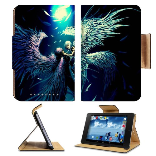 Two Angels In Struggle Google Nexus 7 Flip Case Stand Magnetic Cover Open Ports Customized Made To Order Support Ready Premium Deluxe Pu Leather 7 7/8 Inch (200Mm) X 5 Inch (127Mm) X 11/16 Inch (17Mm) Liil Nexus 7 Professional Nexus7 Cases Nexus_7 Accesso