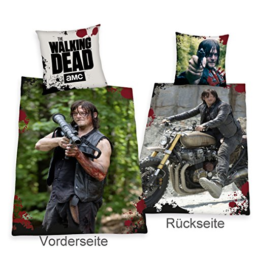 Herding, the Walking Dead Daryl Dixon Modello speciale, copripiumino 135 x 200 cm regalo nuovo - All-In-One outlet-24 -