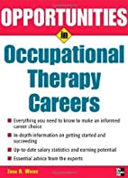 Opportunities in Occupational Therapy…
