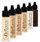 Belloccio Fair Color Shades Airbrush Makeup Foundation Set | Mirage Fx