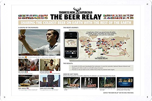 tin-sign-metal-poster-plate-8x12-of-tooheys-new-supercold-the-beer-relay-by-food-beverage-decor-sign