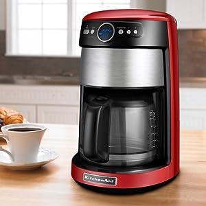 Amazon Com Kitchenaid 14 Cup Glass Coffee Maker Empire
