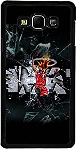 PrintVisa Case Cover for Samsung Galaxy A7 (D8104 Sports Basketball)