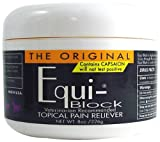Miracle Coat Original Equi-Block Topical Pain Reliever for Horses, 8-Ounce