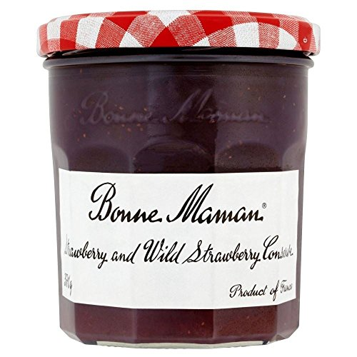Bonne Maman Strawberry And Wild Strawberry Conserve (370G)