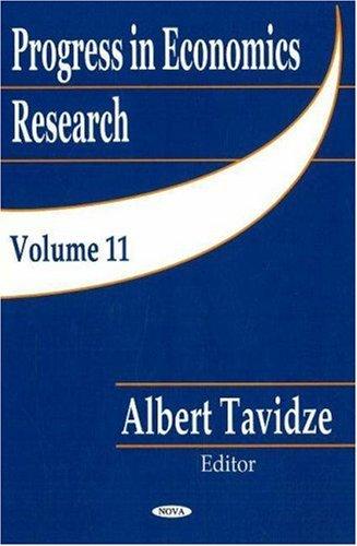 Progress in Economics Research: v. 11