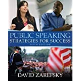 Public Speaking: Strategies for Success (5th Edition) 5th (fifth) Edition by Zarefsky, David published by Allyn...