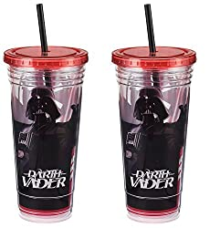Vandor 99414 Star Wars Acrylic Travel Cup, 24-ounce, Multicolored (2 Pack)