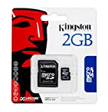 2GB Kingston MicroSD Card Transflash For Mobile Phone Camera