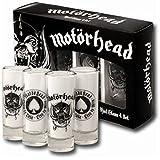 Motörhead Schnapsgläser Shot Glass 4er Set