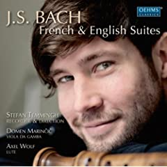 French Suite No. 3 in B Minor, BWV 814 (arr. for recorder, viola da gamba and lute): IV. Anglaise