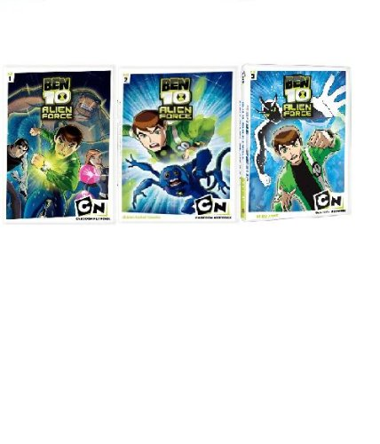 Ben 10 Alien Force Vol 1-3
