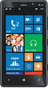 Nokia Lumia 820 4G Windows Phone, Black (AT&T)