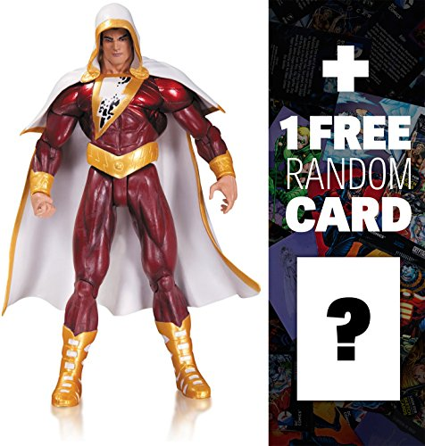 """Shazam: ~6.75"""" DC Collectibles The New 52 Action Figures Series + 1 FREE Official DC Trading Card Bundle [314259]"""