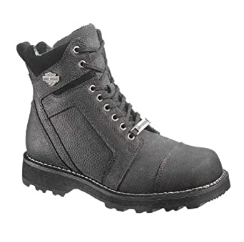 Harley-Davidson Mens Carter Motorcycle Boot, Black, D96006 by Harley-Davidson
