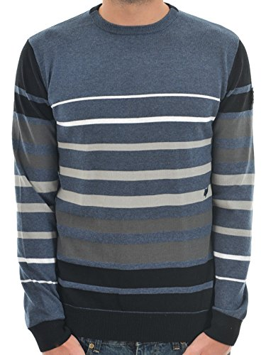 Fox Men's Grindle Sweater, Heather Navy, Medium