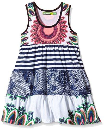 Desigual Mädchen Kleid LINCOLN, Gr. 152 (Herstellergröße: 11/12), Blau (NAVY 5000) thumbnail
