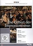 DVD Cover 'Die Geburt des Impressionismus: Manet / Renoir / Monet