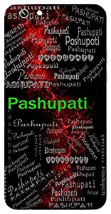 Pashupati (Animal Farmer, Lord Shiva) Name & Sign Printed All over customize & Personalized!! Protective back cover for your Smart Phone : Moto E-2 ( 2nd Gen )