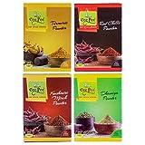 Cee Pee Haldi, Dhania, Lal Mirch Powder And Kashmiri Mirch Powder-350 Gm Pack Of 4