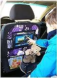 Auto asiento trasero Tablet iPad Organizador Multi Funda Protector de espalda de asiento nr 4 [007]