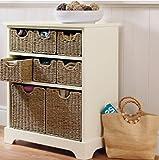 Storage Chest Cream 8 Seagrass Basket Hallway Storage Unit Malvern